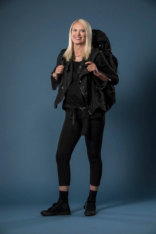 Anneka is back on TV in Celebrity Hunted