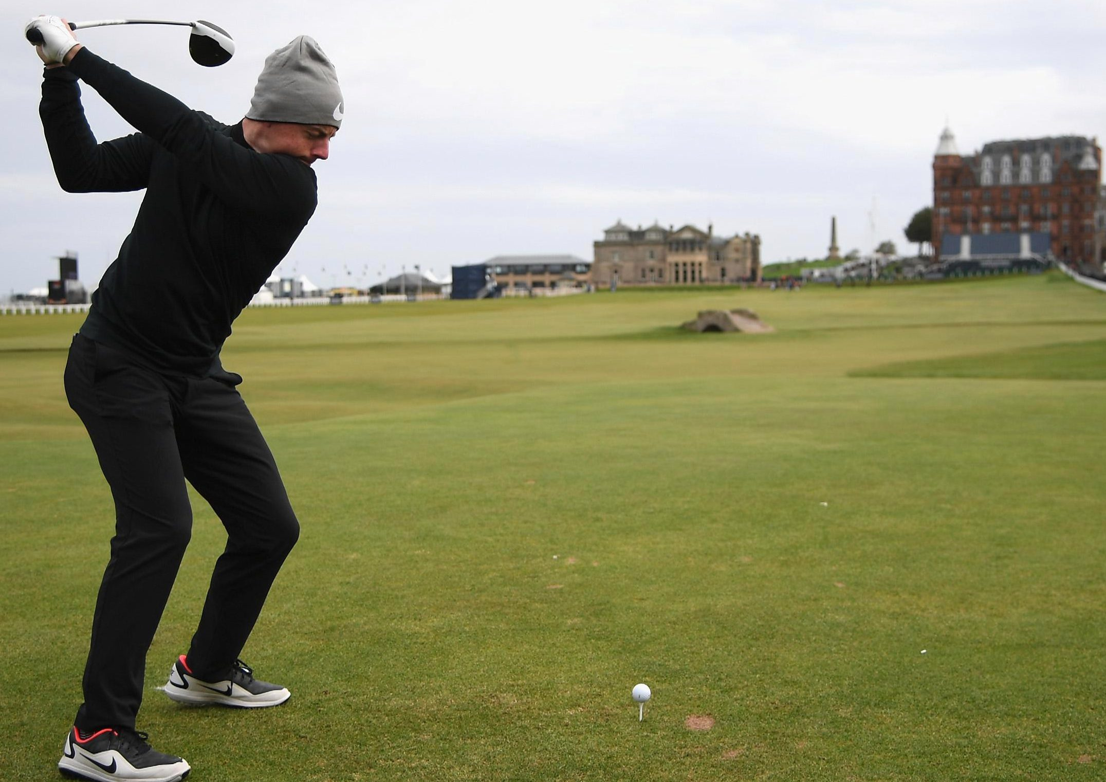 McIlroy is teeing it up at the Alfred Dunhill Links Championship this week