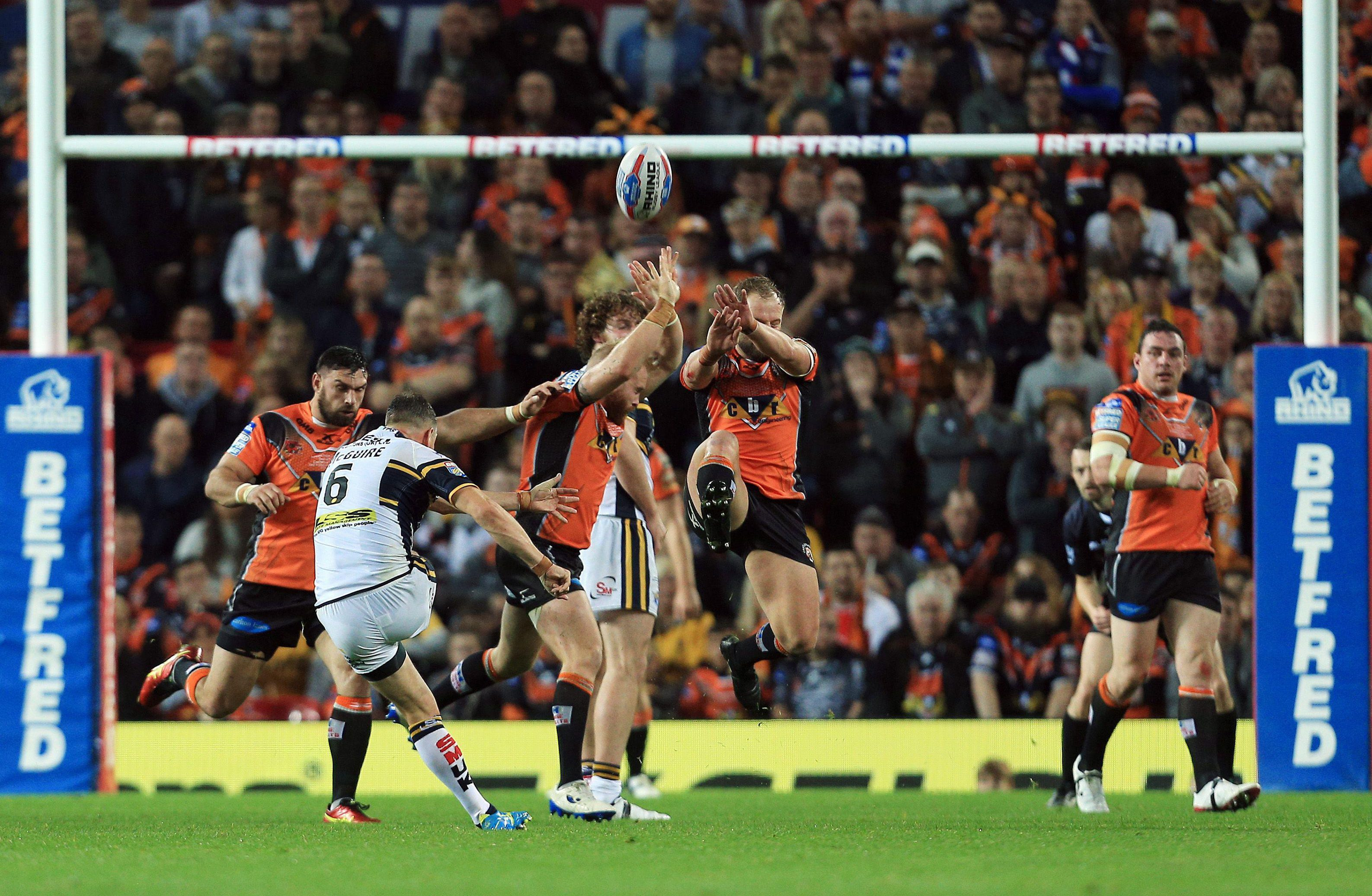 Castleford lost last year's Grand Final to Leeds Rhinos