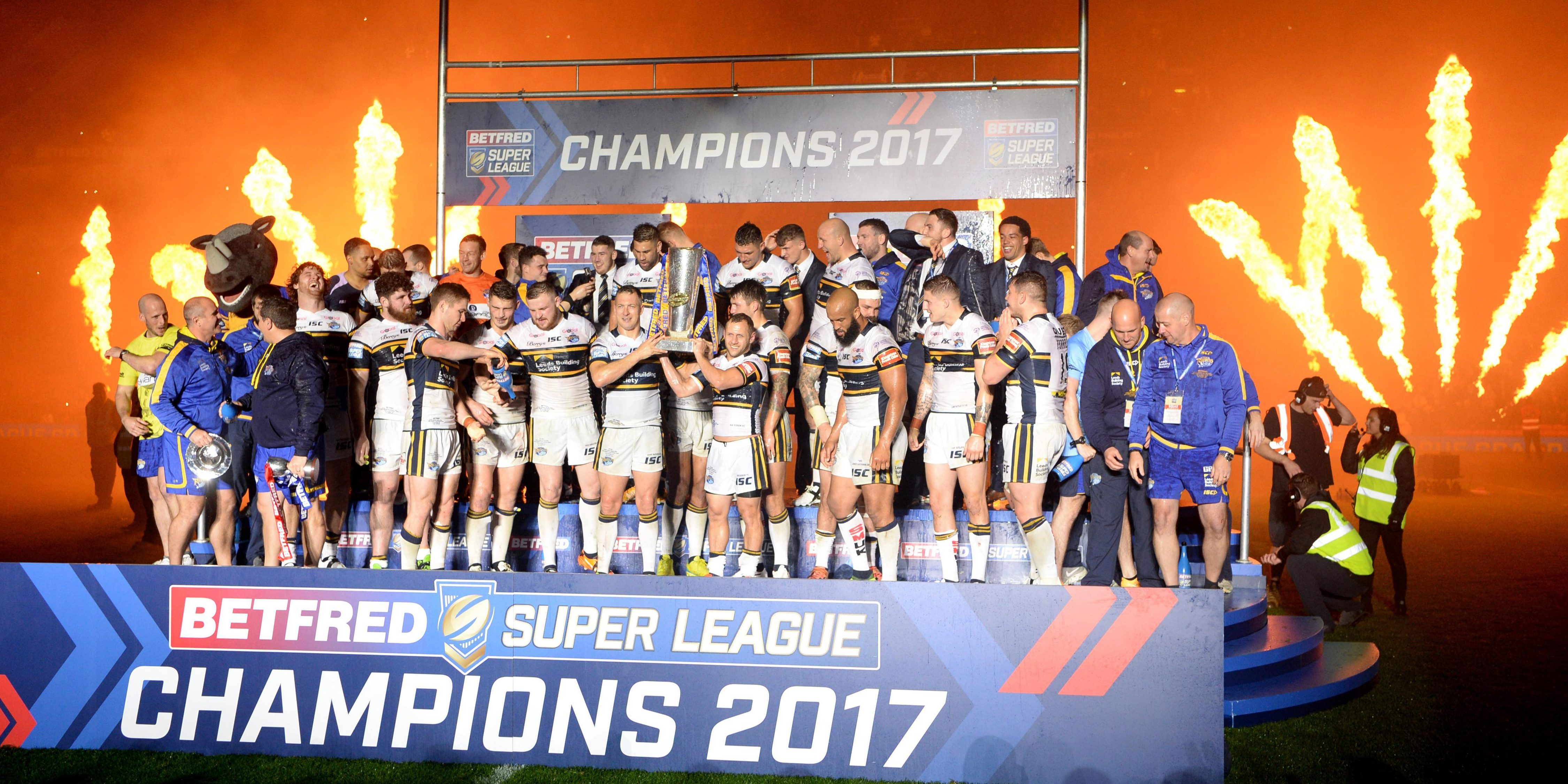 Leeds Rhinos won the title last year but the way teams can win Super League looks set to change