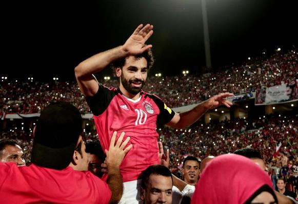 Mohamed Salah has been honoured back in his hometown