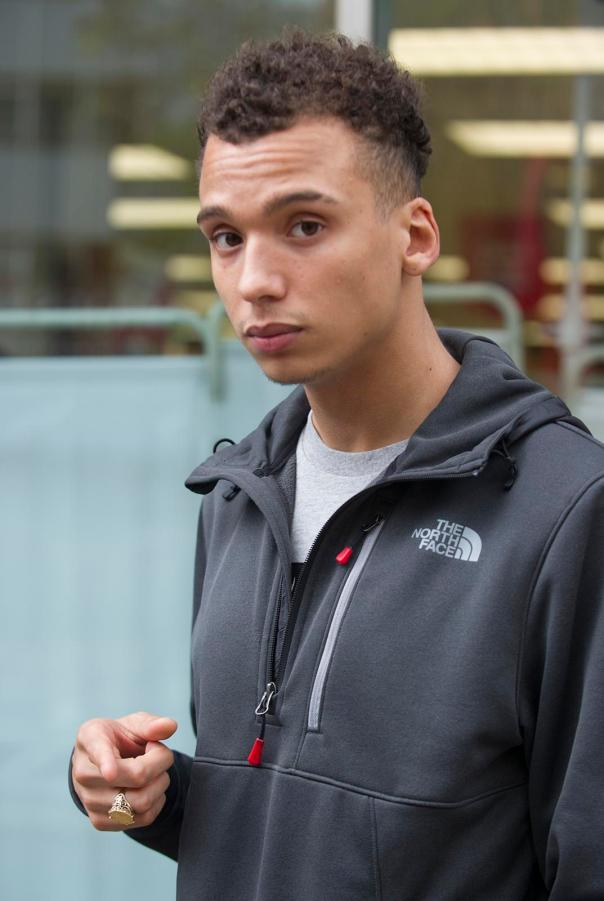 Dominic Richardsonconfessed to police about romping with the red-headat Hackney Fields station