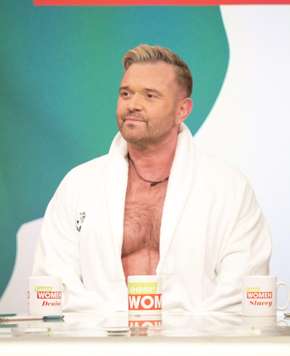 He revealed that he suffers from the same sleep eating disorder as Robbie Williams