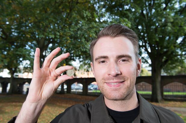 Lance Corporal Richard Jones — winner of Britain's Got Talent with his magic act — says we can do better than ever by handing over our roundcoins to the British Legion.