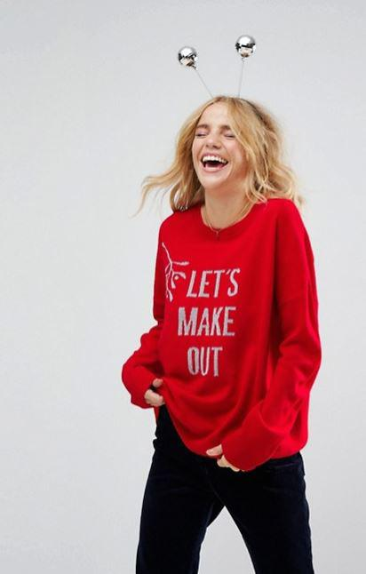Hoping to get lucky under the mistletoe? You could try wearing this T-shirt