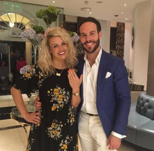 The pair got engaged six months after dating