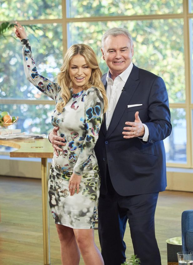 Ola and Eamonn were all smiles before he joked they could be on next years show