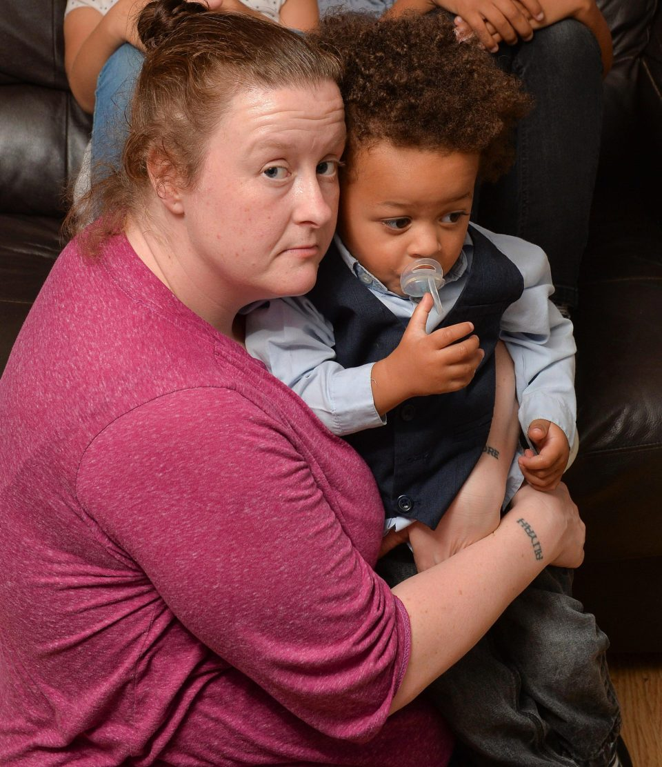 Lynda said the Universal Credit delay left her family struggling to eat