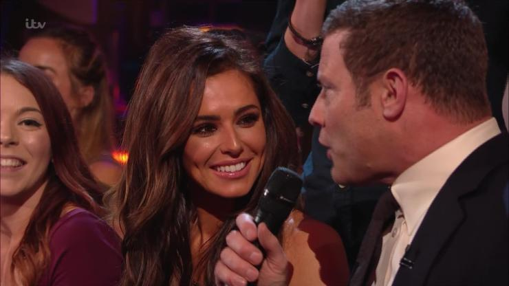 Cheryl was in the audience to cheer Liam on during his first solo performance on the show