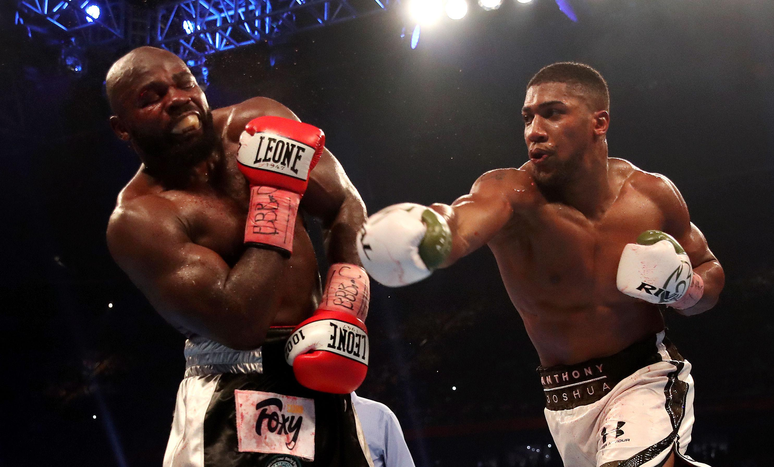 Carlos Takam reckons his fight with Anthony Joshua was stopped too soon