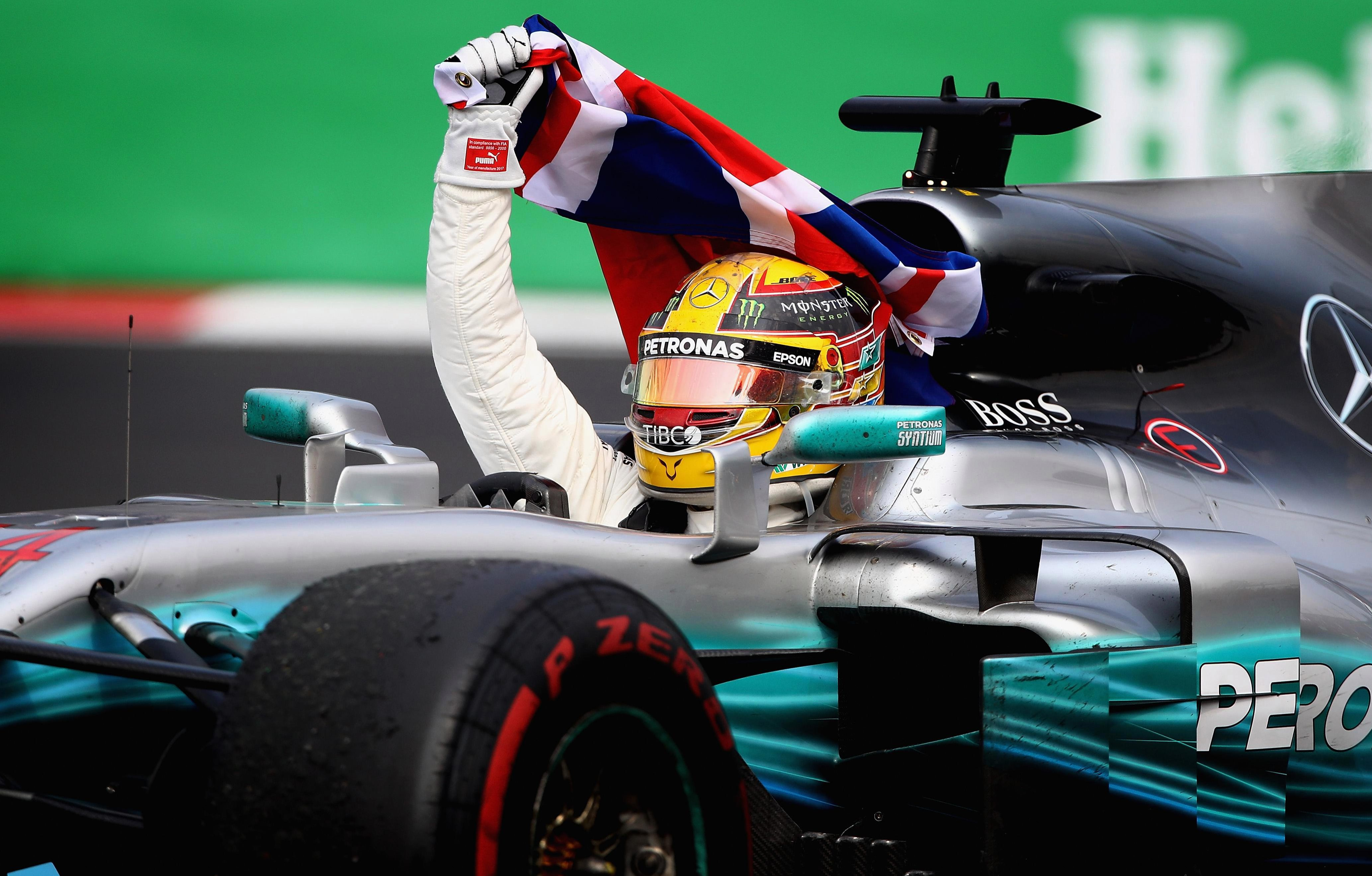 Lewis Hamilton's hopes looked dashed on the first lap but he recovered well