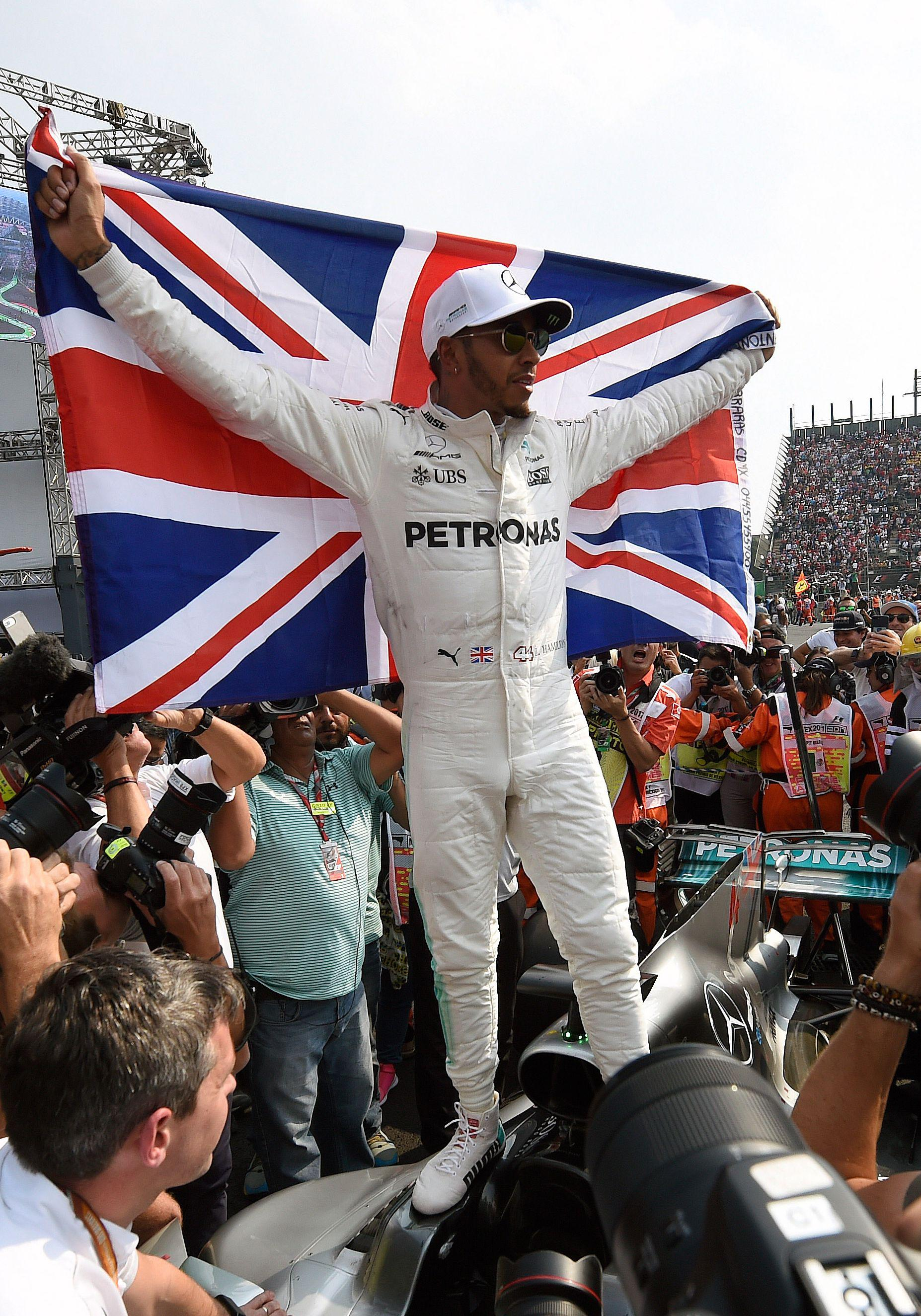 The Stevenage-born superstar is the most successful British driver of all time