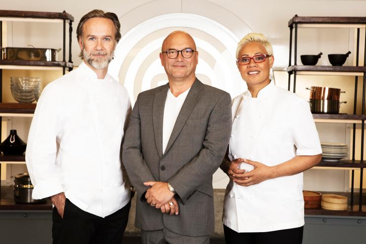 Marcus Wareing, Gregg Wallace and Monica Galetti are back
