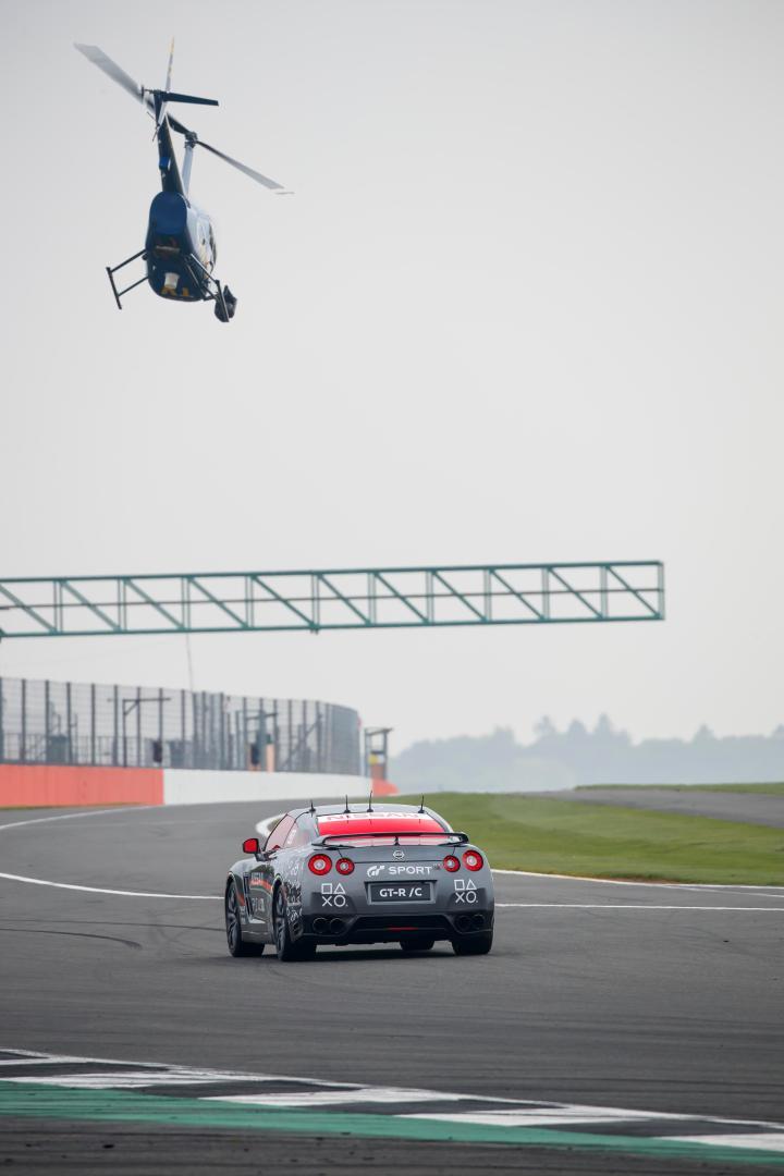 GT-R/C hit a top speed of 131mph in the hands of Jann