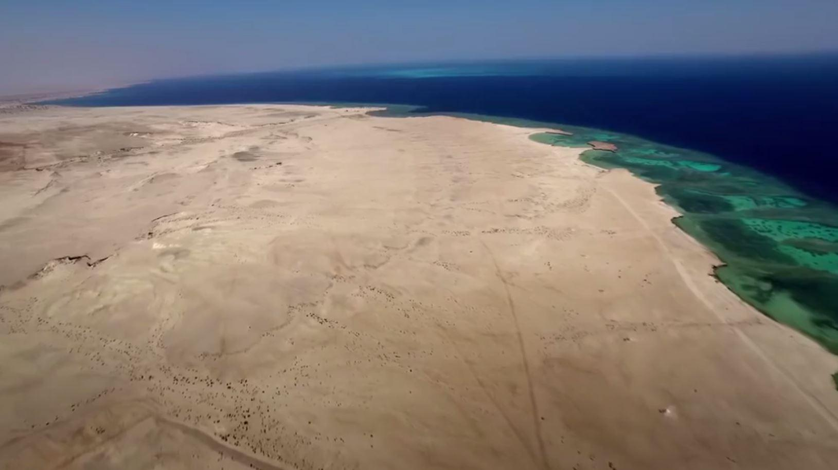 The NEOM zone will sit in land south of the Sinai Peninsula close to Sharm El Sheikh