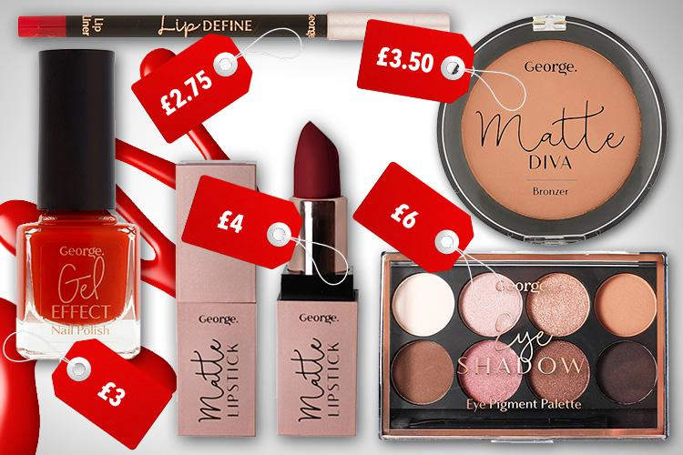 It costs only £16.25 to create Frankie's sensational glam party look