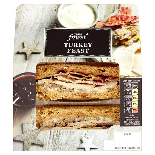 The Tesco Turkey Feast comes in at 525 calories
