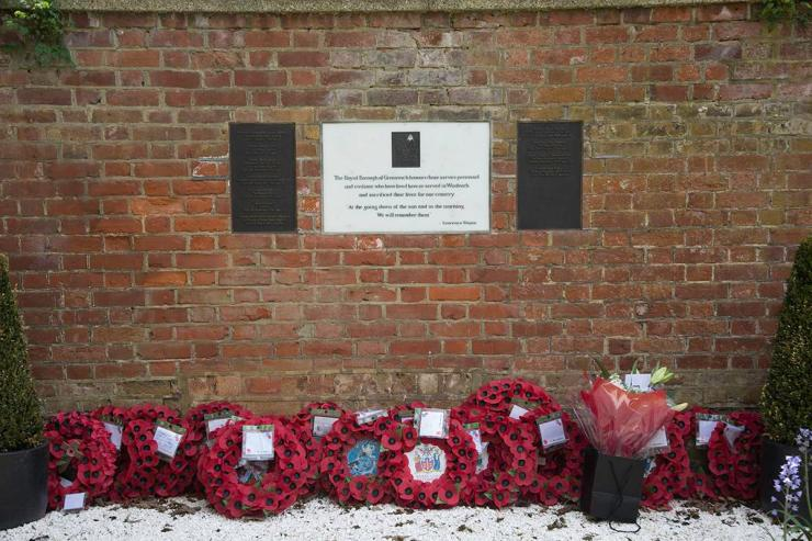 Memorial to Lee Rigby at the scene which The Sun campaigned for