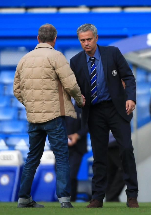 Jose Mourinho has stated in the past that he is not friends with Roman Abramovich