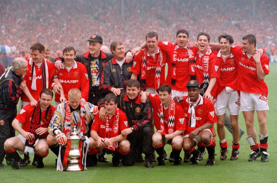 Ryan Giggs won countless trophies during his Man United days
