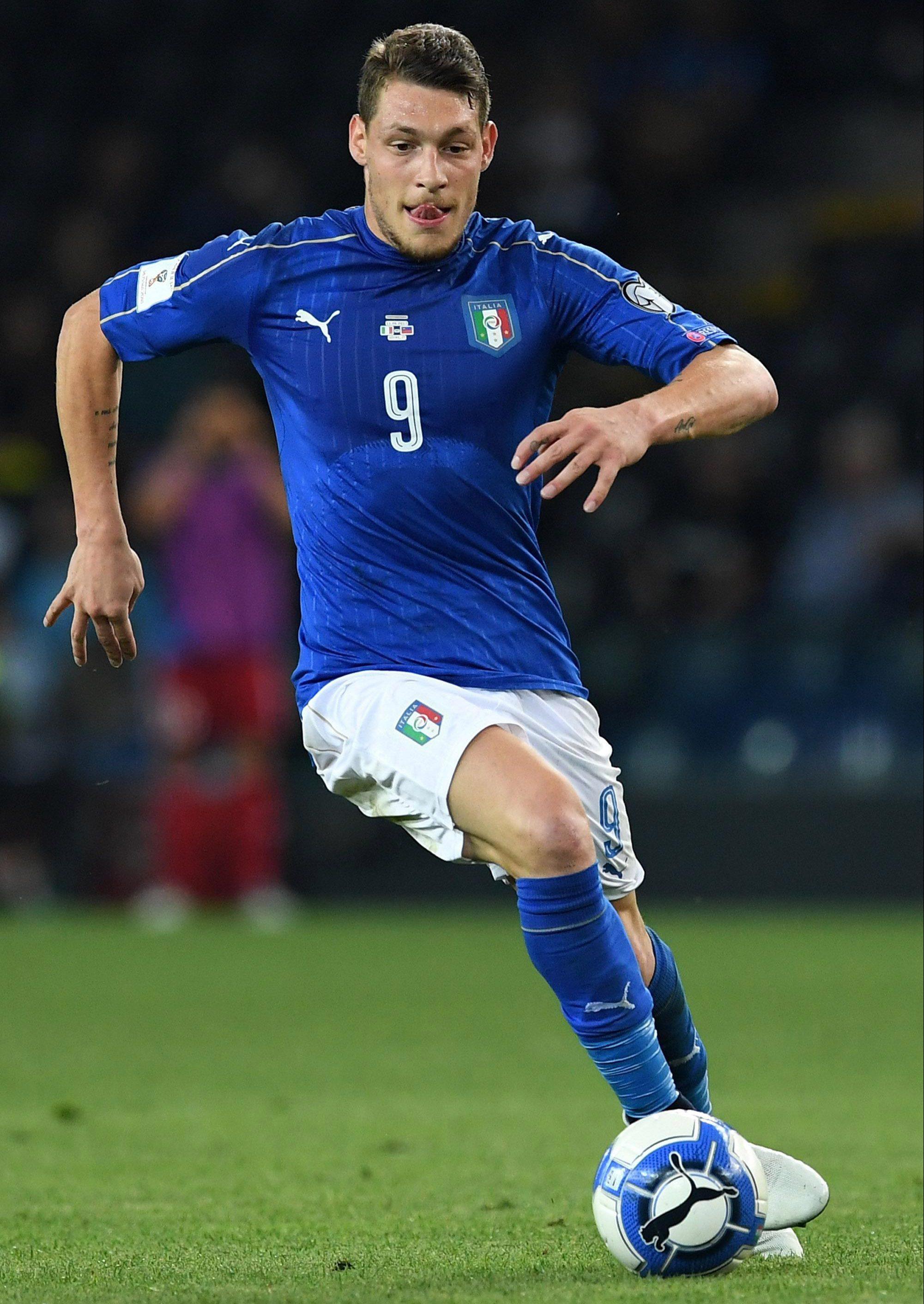 Insigne helps provide firepwer alongside Andrea Belotti for Italy