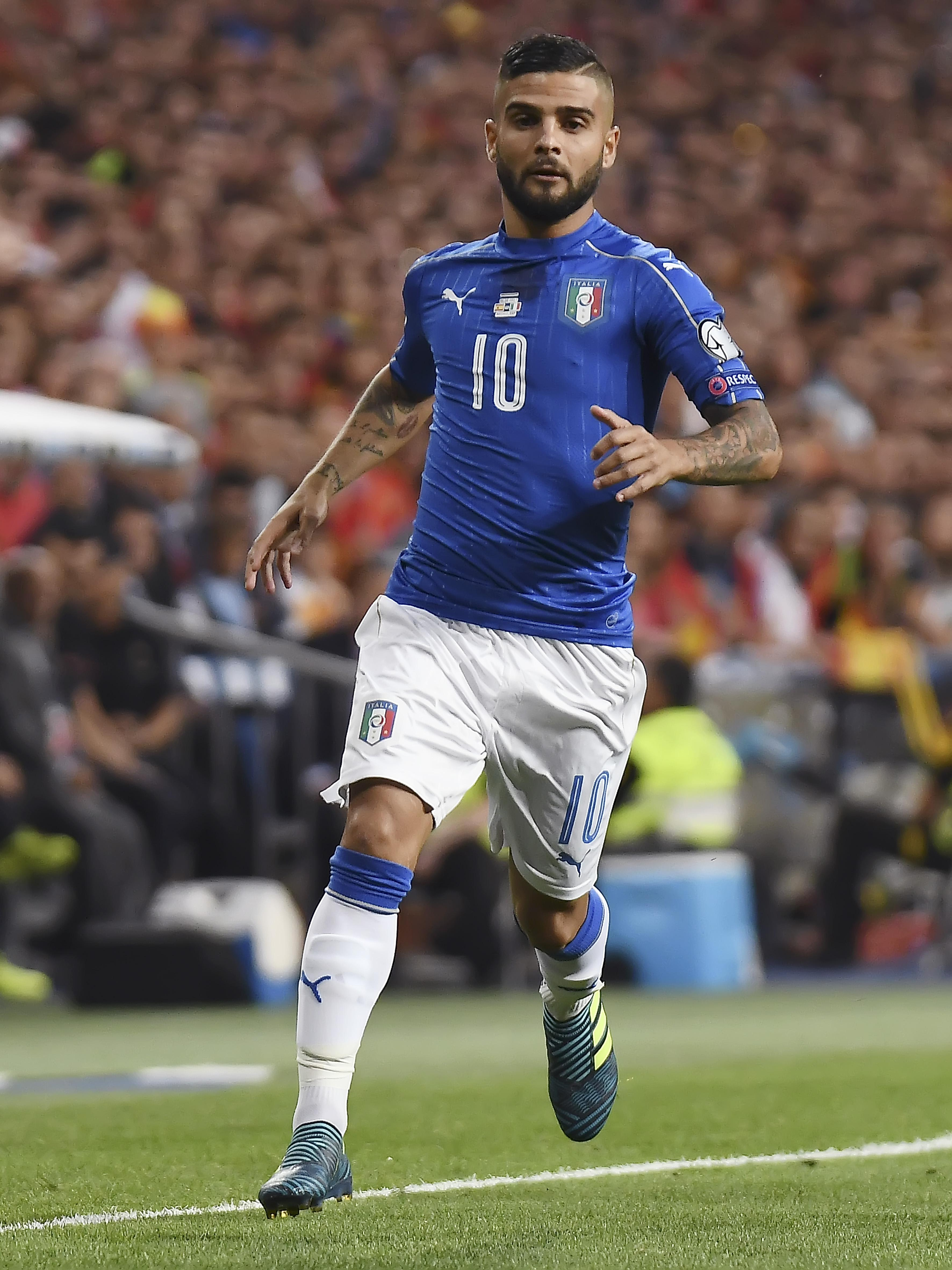 Lorenzo Insigne has been in incredible form for Napoli this season