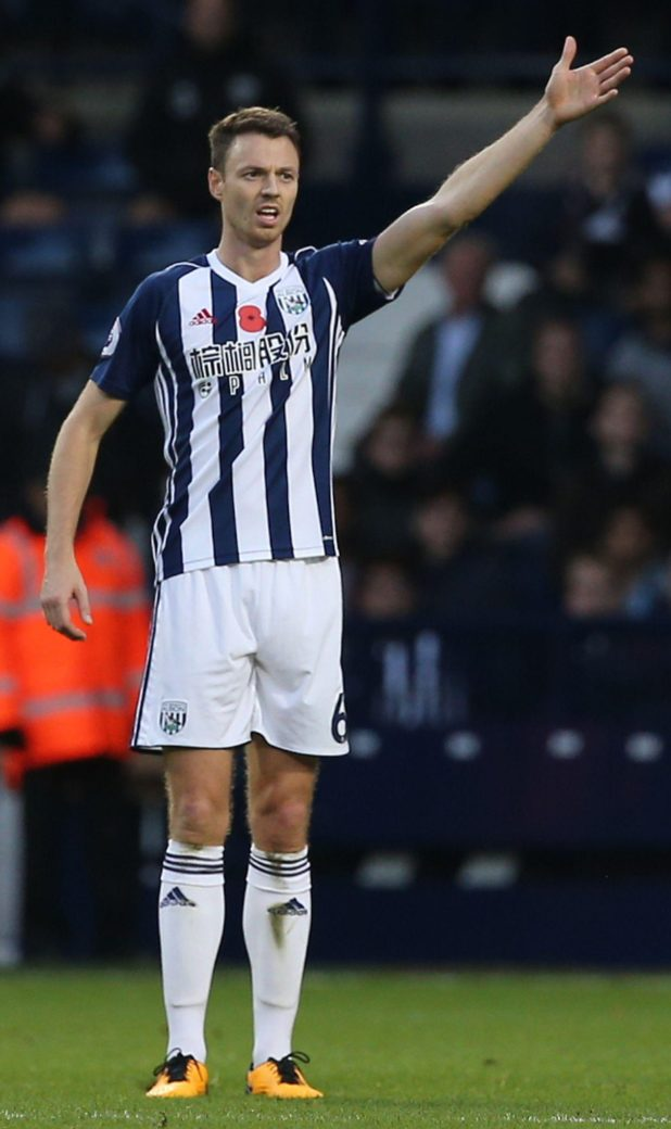 West Brom skipper Jonny Evans seems certain to head back to the North West after making his name with Manchester United