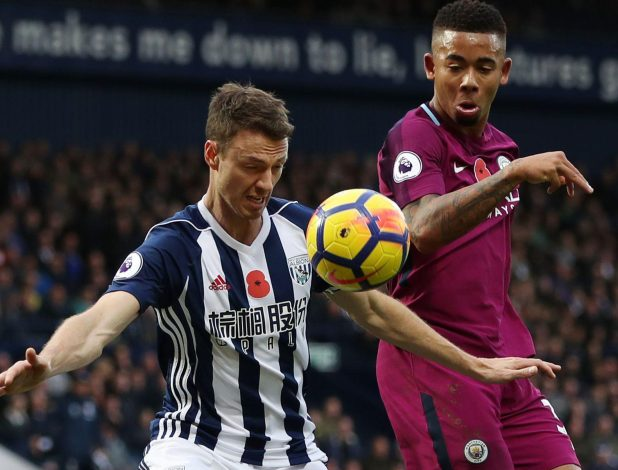 Jonny Evans has maintained his reputation as one of the most consistent central defenders in the Premier League after joining West Brom