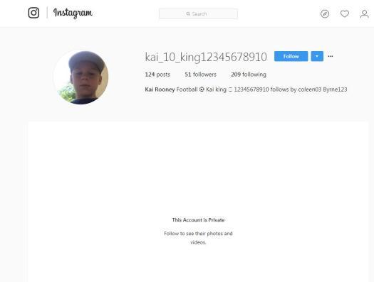 Kai calls himself 'King Kai' on the site