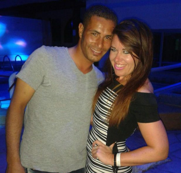 Terrified Laura was heading for a two-week break with Egyptian husband Omar