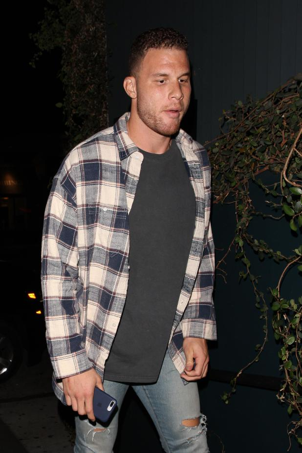 Kendall's boyfriend Blake Griffin attended the party
