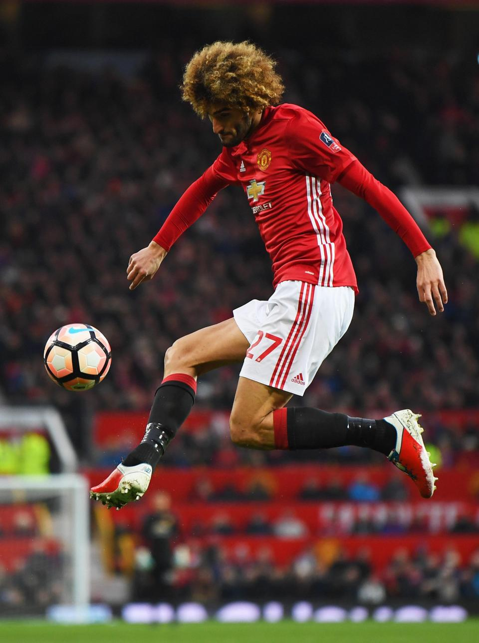 Marouane Fellaini is suing New Balance for £2.1million because he claims their boots hurt his feet