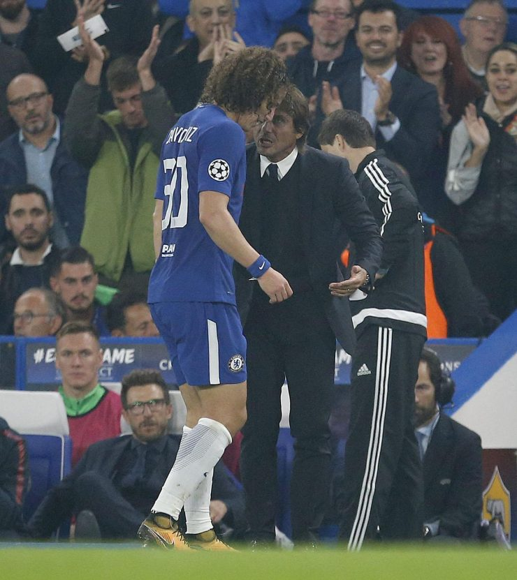 David Luiz is one of the fall guys from Chelsea's miserable 3-0 defeat at the hands of Roma on Tuesday