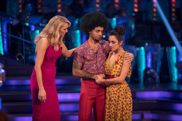 Aston admitted that he was gutted to be booted from the show
