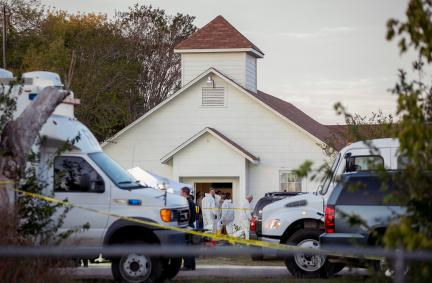 At least 26 people were killed when Devin Kelley opened fire at the First Baptist Church of Sutherland Springs on Sunday