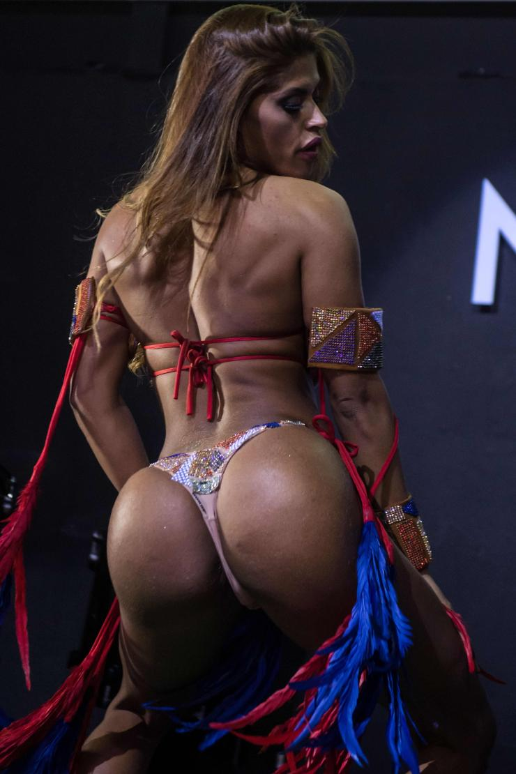 Rosie Oliveira was crowned the winner of this year's Miss BumBum competition in Brazil