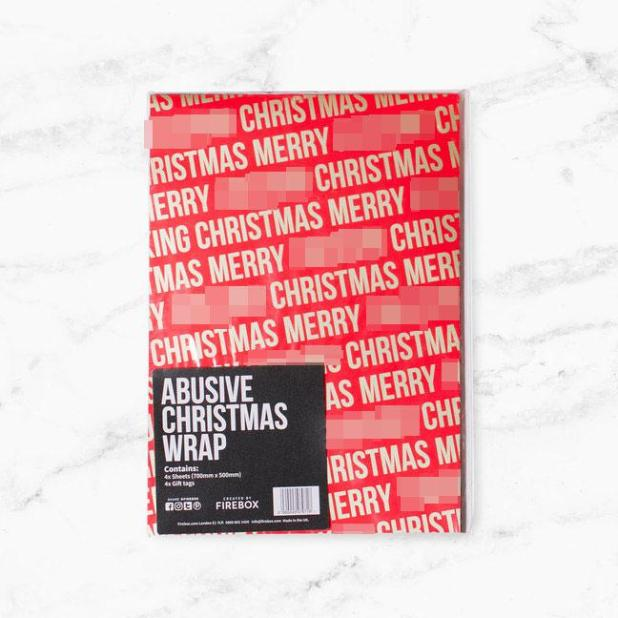 Make your gifts stand out under the tree with the wrapping paper available online