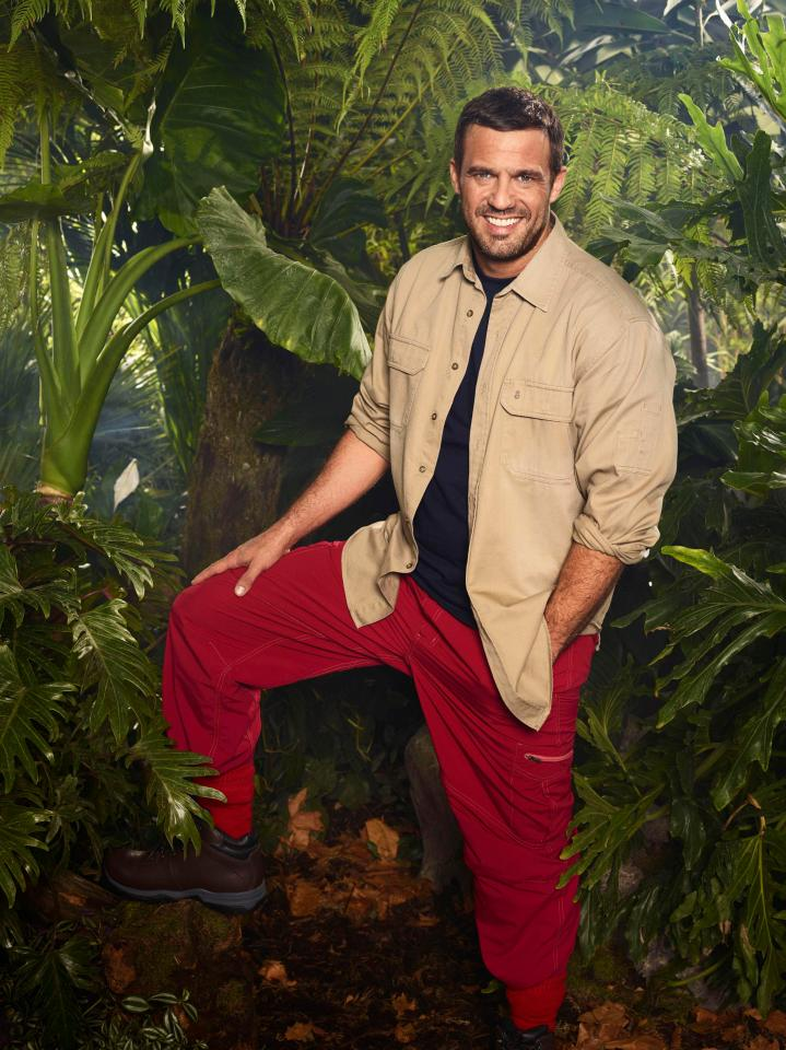 Jamie Lomas is in I'm A Celebrity 2017