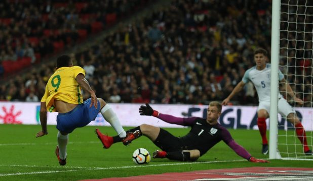 nintchdbpict000366922745 e1510692658782 - England 0 Brazil 0: Three Lions held to another goalless draw as Gareth Southgate's men struggle against Samba stars