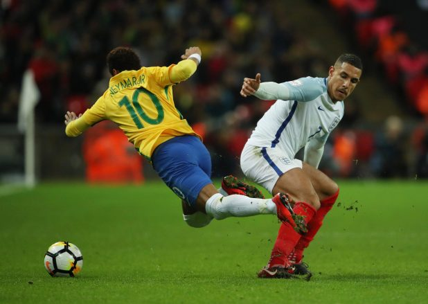 nintchdbpict000366931390 e1510694686172 - England 0 Brazil 0: Three Lions held to another goalless draw as Gareth Southgate's men struggle against Samba stars