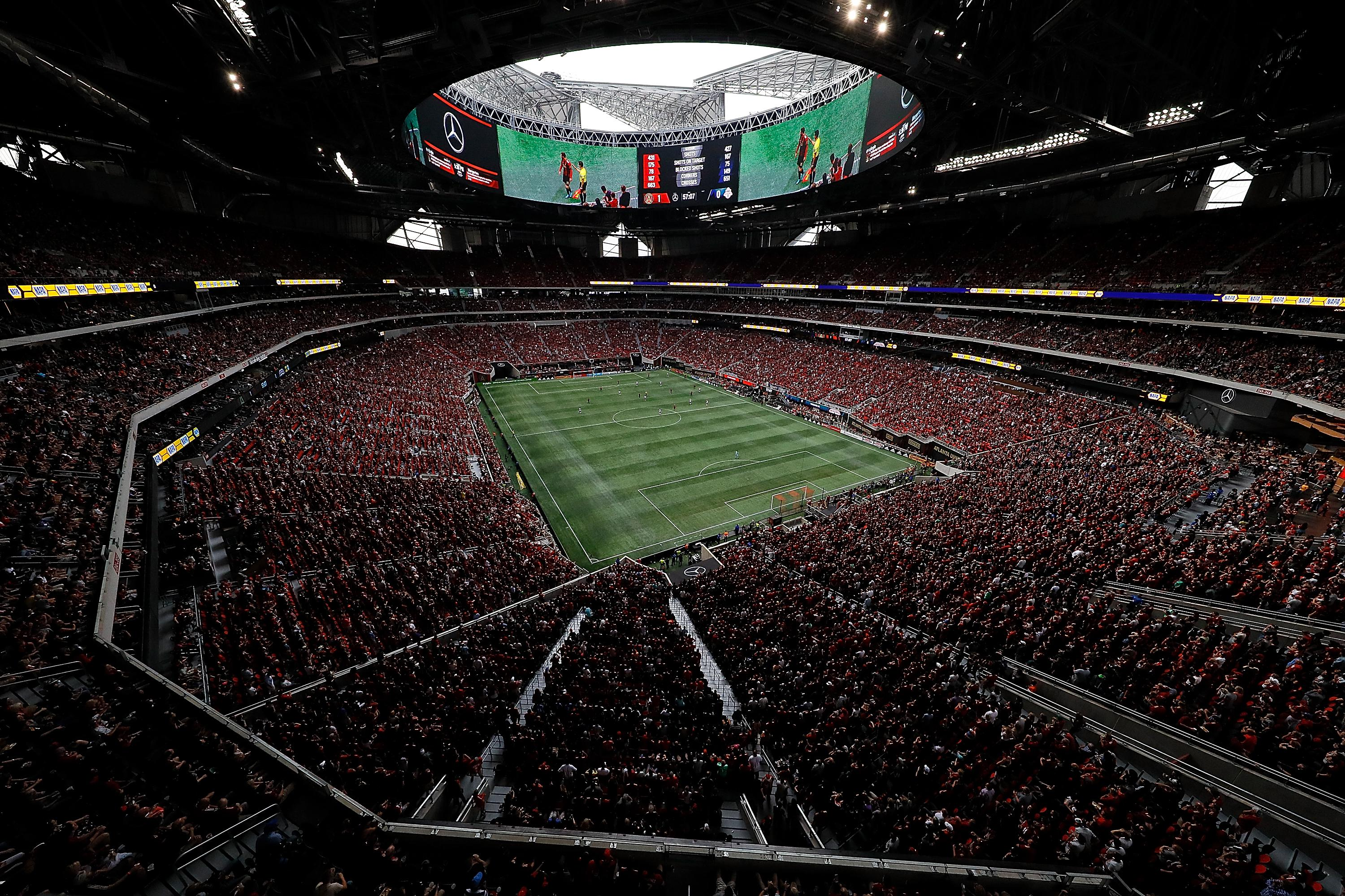 Atlanta United's new arena is easily the most expensive on the planet