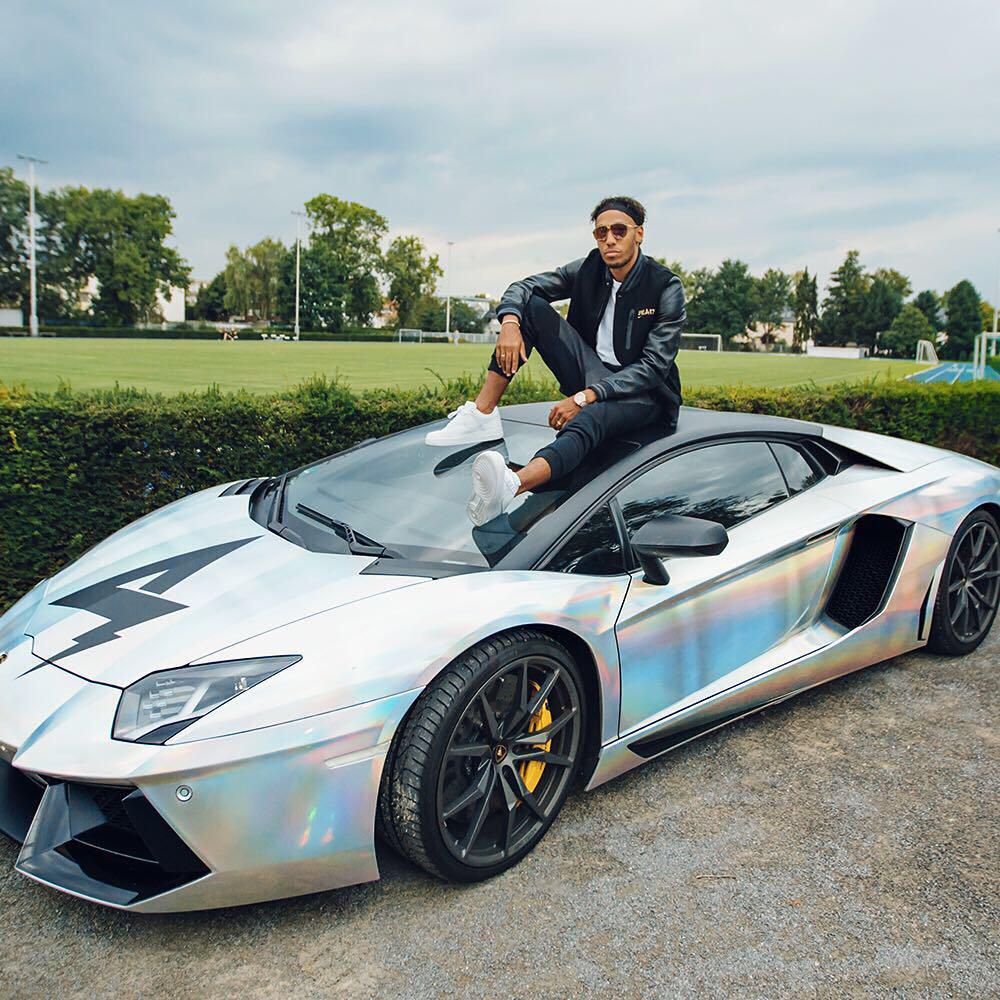 Pierre-Emerick Aubameyang could be set to bring his talent and his Batmobile to Chelsea in January