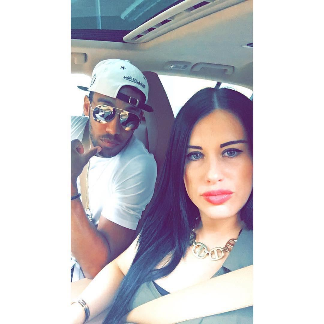Pierre-Emerick Aubameyang's girlfriend Alysha Behague is self-confessed shopaholic