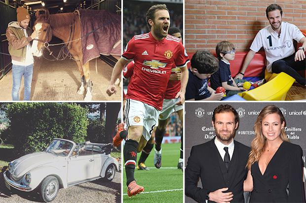 Manchester United ace Juan Mata is no ordinary football superstar: charity  champion, backpacking holidays and two degrees