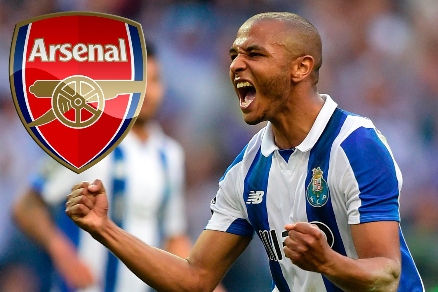 Image result for Yacine Brahimi arsenal