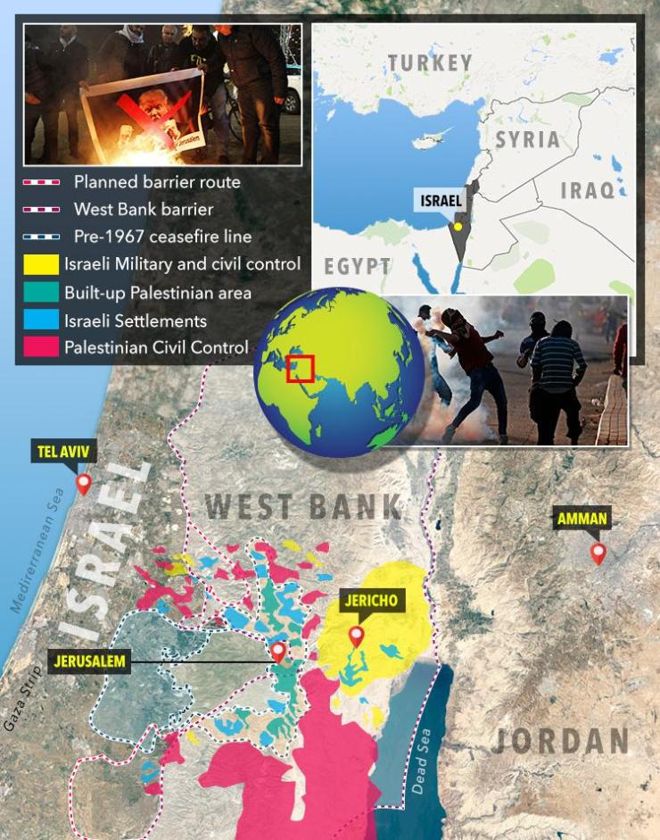 Jerusalem has been at the heart of violent conflicts throughout history
