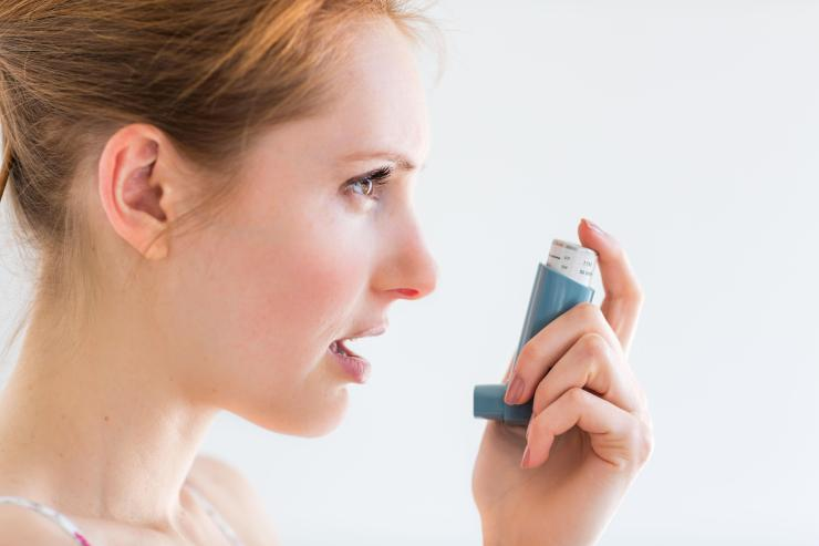 Asthma is caused by inflammation of the breathing tubes that carry air to and from our lungs