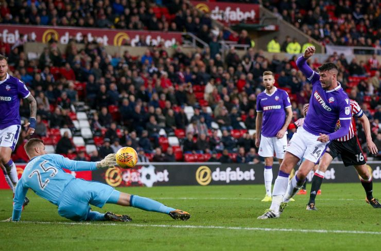 Madine scored against Sunderland in the 3-3 draw at the Stadium of Light