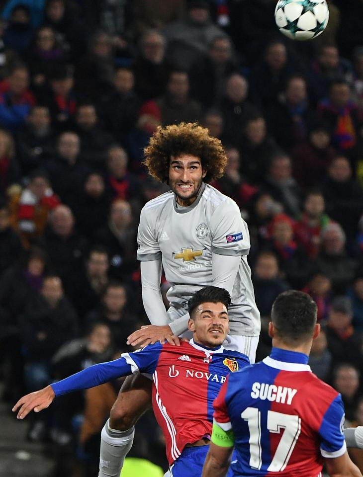 United will look towards Fellaini's height as an advantage over Pep Guardiola's side