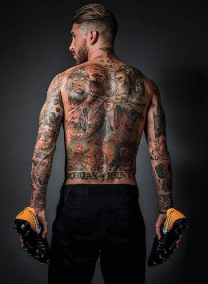 Image result for sergio ramos tattoo